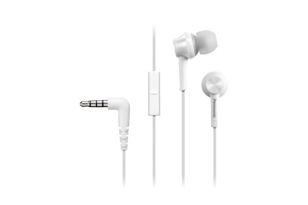 Špuntová sluchátka Sluchátka Panasonic RP-TCM115E-W - bílá