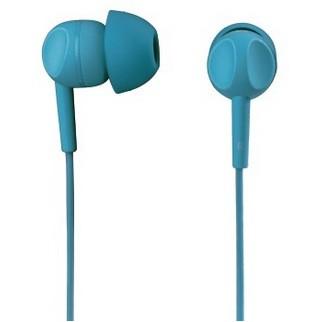 Špuntová sluchátka Sluchátka s mikrofonem Thomson EAR3203, tyrkysová