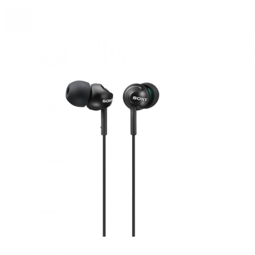 Špuntová sluchátka Sony MDR-EX110LP, černá