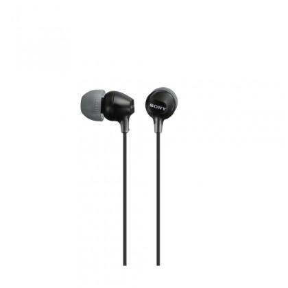 Špuntová sluchátka Sony MDR-EX15LP, černá ROZBALENO
