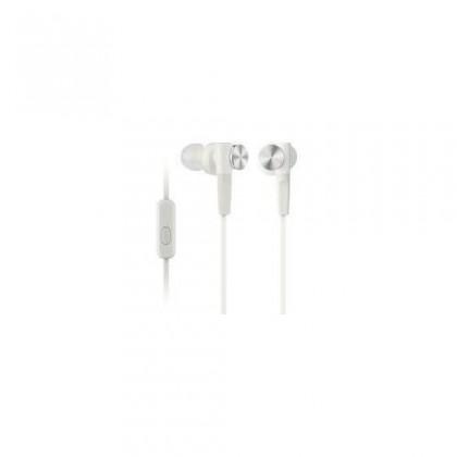 Špuntová sluchátka Sony MDR-XB50AP White