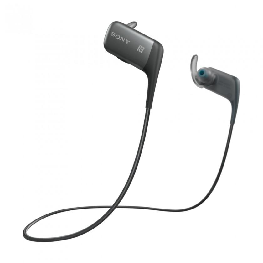 Špuntová sluchátka Sony Sluchátka MDR-AS600BT černá