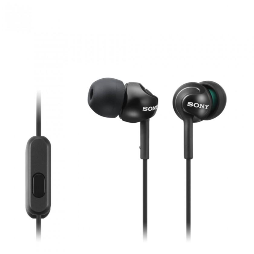 Špuntová sluchátka Sony Sluchátka MDR-EX110AP černá