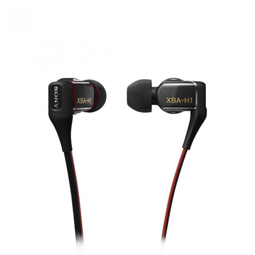 Špuntová sluchátka Sony Sluchátka XBA-H1