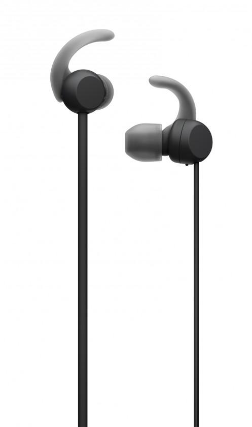 Špuntová sluchátka Sony WI-SP510, černá
