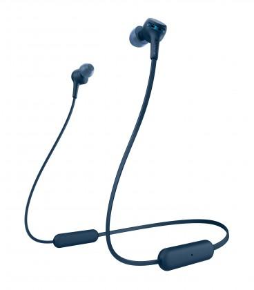 Špuntová sluchátka SONY WI-XB400,modrá