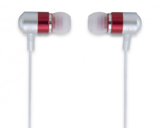Špuntová sluchátka TDK EB260 červená