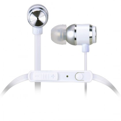 Špuntová sluchátka TDK IP300 stříbrná