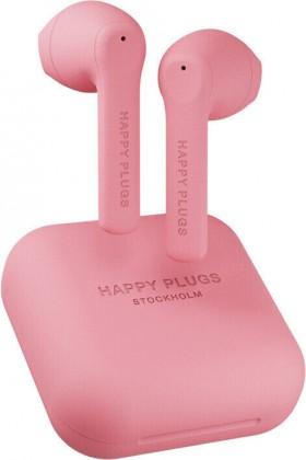 Špuntová sluchátka True Wireless sluchátka Happy Plugs Air 1 Go, růžová