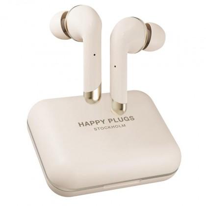 Špuntová sluchátka True Wireless sluchátka Happy Plugs Air 1 Plus In-Ear, zlatá