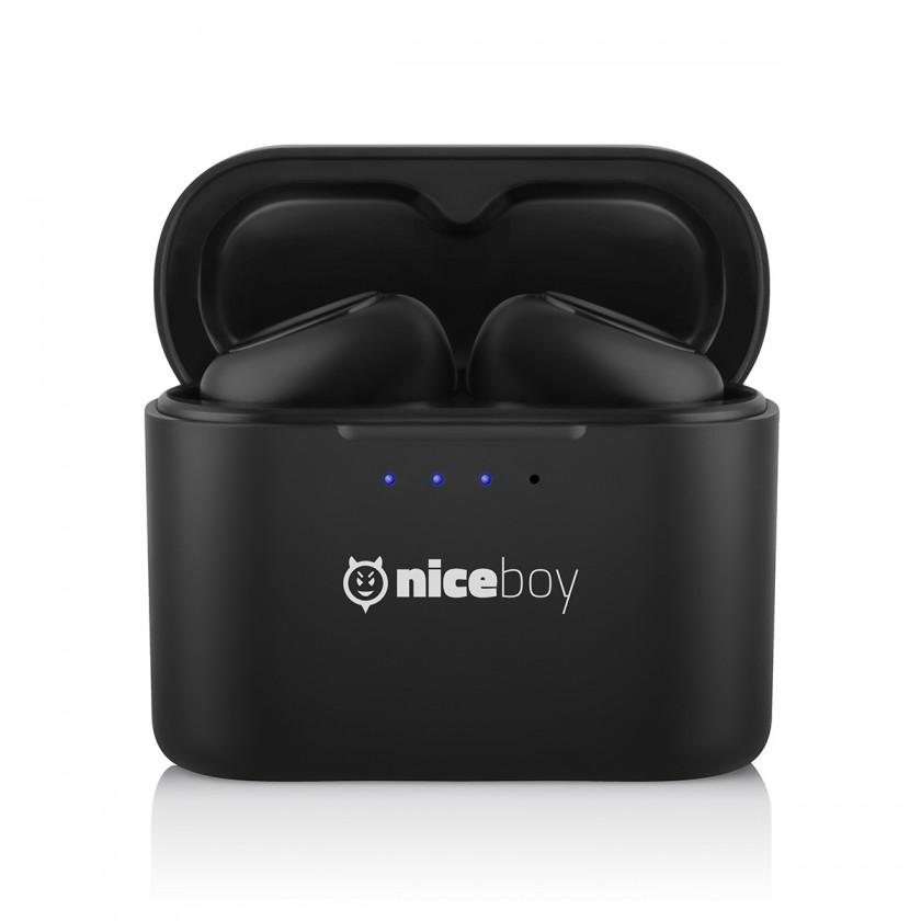 Špuntová sluchátka True Wireless sluchátka Niceboy HIVE podsie