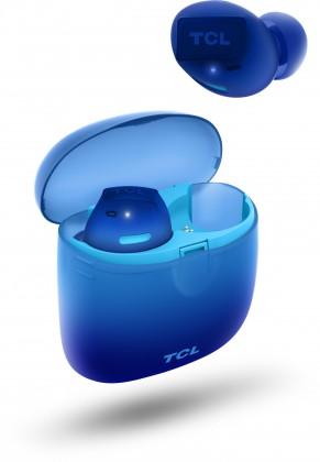 Špuntová sluchátka True wireless sluchátka TCL SOCL500TWS modrá