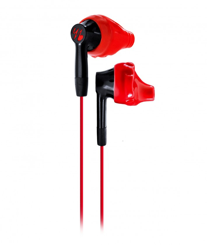 Špuntová sluchátka Yurbuds Inspire 200 Men červená