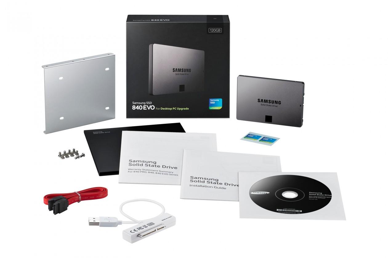 """SSD 2,5"""" 120GB Samsung 840 EVO SATAIII Desktop ROZBALENO"""