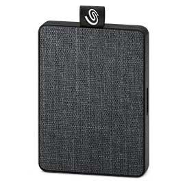 SSD disk Externí SSD disk Seagate One Touch 1 TB, černá