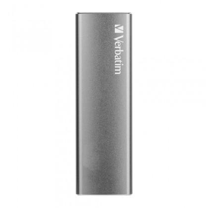 SSD disk Externí SSD disk Verbatim Vx500, 240 GB, 29g, stříbrná