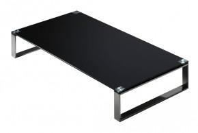 Stain - Konferenční stolek (černá, 60x120 cm)