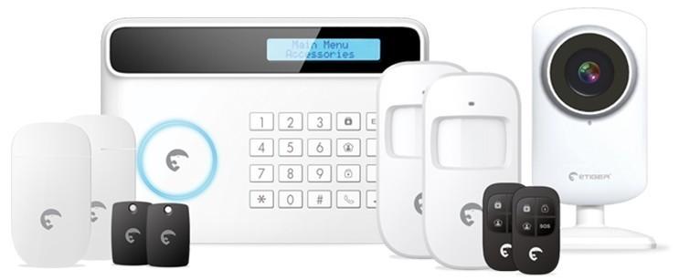 Startovací sady eTiger S4 Combo Vid SECUAL Sim Bezdrátový bezpečnostní systém