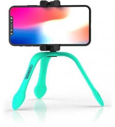 Stativy na mobil Multifunkční držák Zbam Gekko XL, tyrkysová
