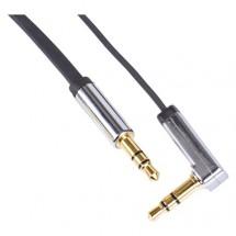 Stereo audio kabel Emos SM7031BL, jack/jack, 1m