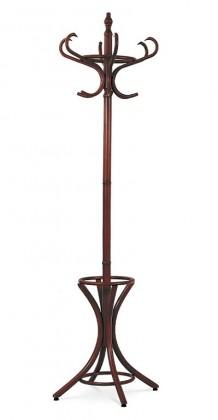 Stojanový věšák - SV 14, 186 cm (hnědá, dřevo)