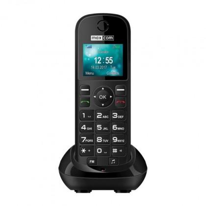 Stolní telefon Stolní GSM telefon Maxcom Comfort MM35D, černá POUŽITÉ, NEOPOTŘEB