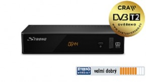 STRONG DVB-T2 přijímač SRT 8211 POUŽITÉ, NEOPOTŘEBENÉ ZBOŽÍ