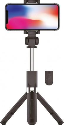 Stylusy a selfie držáky 2v1 Selfie tyč a třínohý stojan WG TRIPOD se spouští