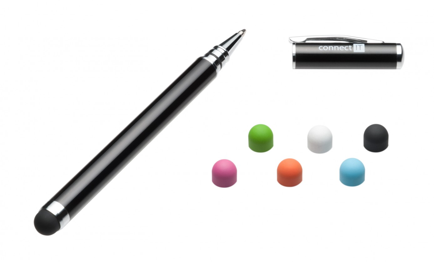 Stylusy a selfie držáky Connect IT CI171 Stylus + kuličkové pero