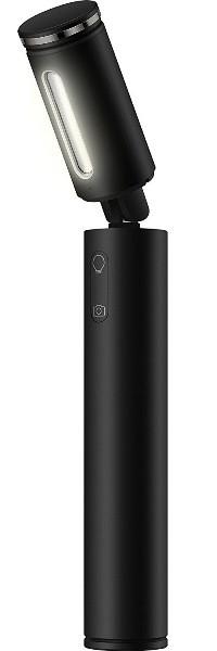 Stylusy a selfie držáky Selfie tyč Huawei CF33 s LED světlem, až 61cm, černá