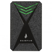 SureFire Gaming Bunker HDD USB 3.2 Gen 1 1TB Black