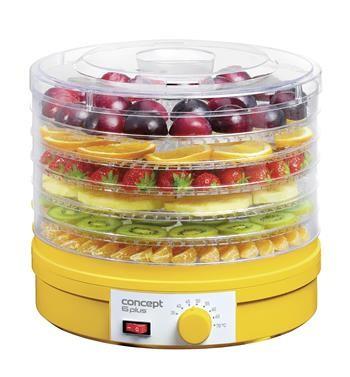 Sušička ovoce Sušička potravin Concept SO1015, 6 plátů