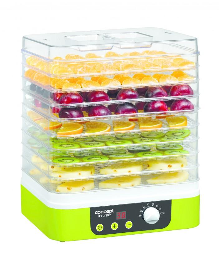 Sušička ovoce Sušička potravin Concept SO1060, 9 plátů