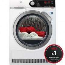 Sušička prádla AEG AbsoluteCare T8DBE48SC, A++, 8 kg + rok praní zdarma