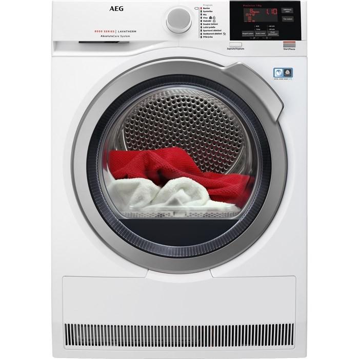 Sušička prádla AEG AbsoluteCare T8DBG48SC