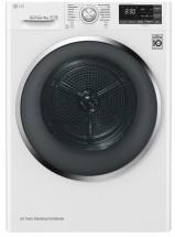 Sušička prádla LG RC81U2AV2W, A+++, 8 kg, Hybridní sušení