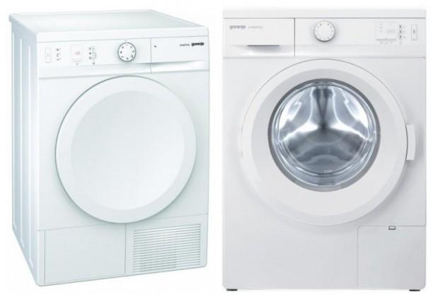 Sušička prádla SET GORENJE pračka WA74SY2W + sušička D76SY2W