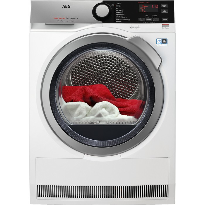 Sušička prádla Sušička prádla AEG AbsoluteCare T8DEE68SC, A+++, 8 kg