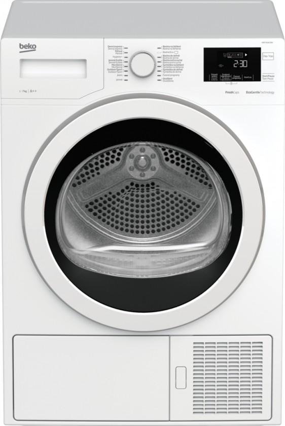 Sušička prádla Sušička prádla Beko HDF7434CSRX, 7 kg, 46cm, A++ ROZBALENO