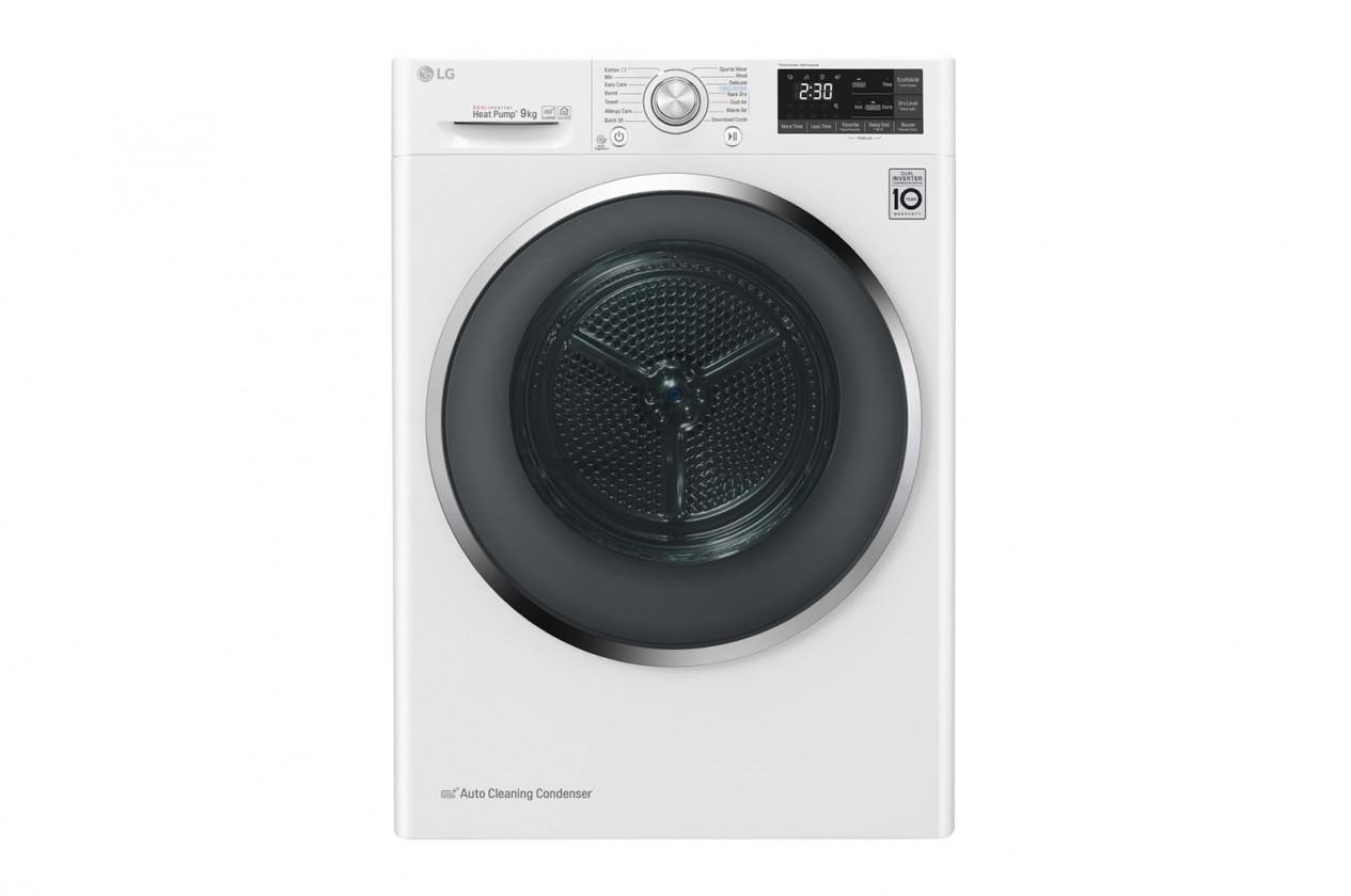 Sušička prádla Sušička prádla LG RC81EU2AV3W, A+++, 8 kg, Hybridní sušení
