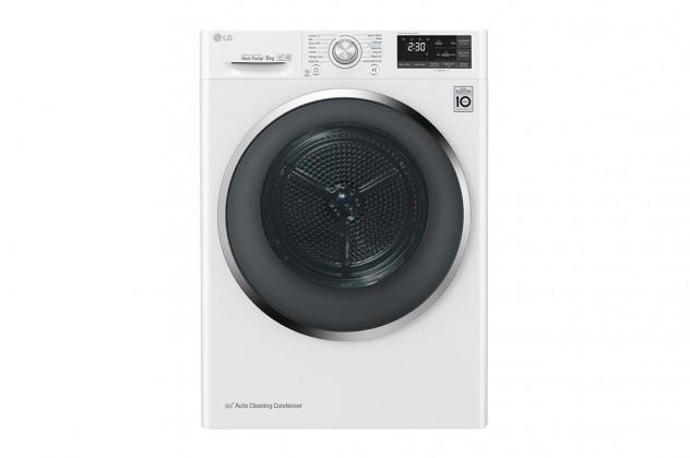 Sušička prádla Sušička prádla LG RC81U2AV2W, A+++, 8 kg, Hybridní sušení