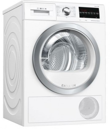 Sušička prádla Sušička s tepelným čerpadlem Bosch WTW85491BY,9 kg,A++