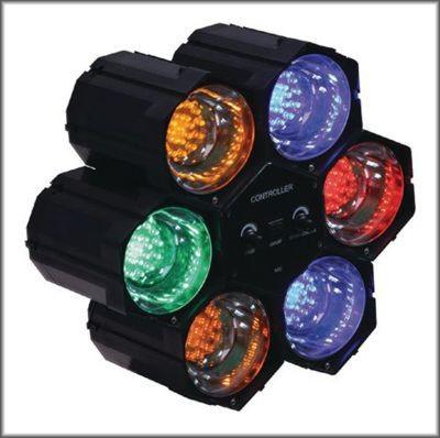 Světelný efekt se 6 světly