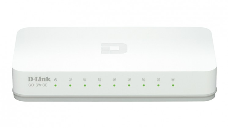Switch D-Link GO-SW-8E