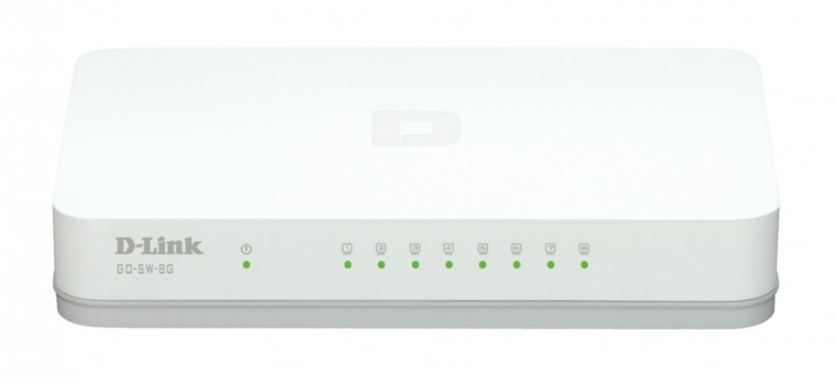 Switch D-Link GO-SW-8G