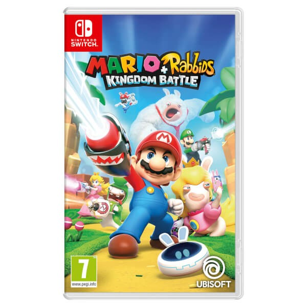 SWITCH Mario + Rabbids Kingdom Battle (NSS4342)