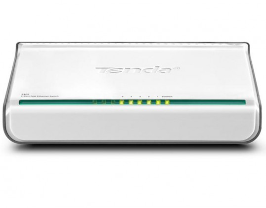 Switch Tenda S105 Mini Eco Fast, 5-port ROZBALENO