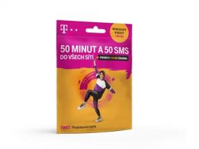 T-Mobile Twist 50 minut a 50 SMS