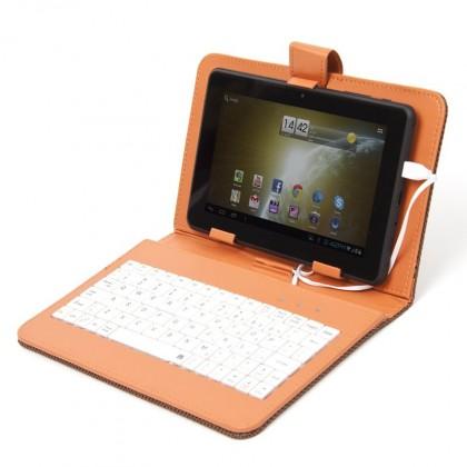 """Tablet pouzdro s klávesnicí OMEGA OCT7KBIB, univerzální, 7"""" oranž"""