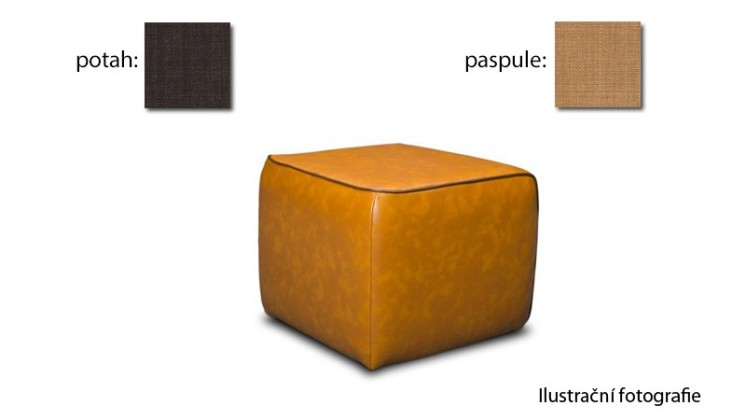 Taburet Case - (k:chili - corn C225,sk.2s/m:chili - brown C222,sk.2s)